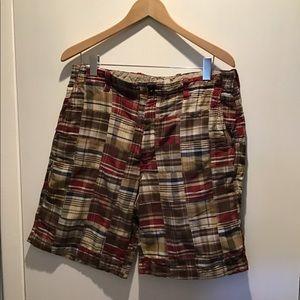 Arrow Madras Plaid Shorts